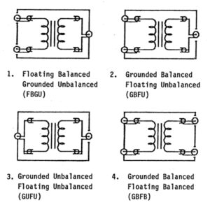 Isolation Transformer Configurations
