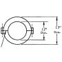 Prodyn Current Probe I210B outline drawing