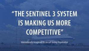 Sentinel 3 fibre optic system customer quote