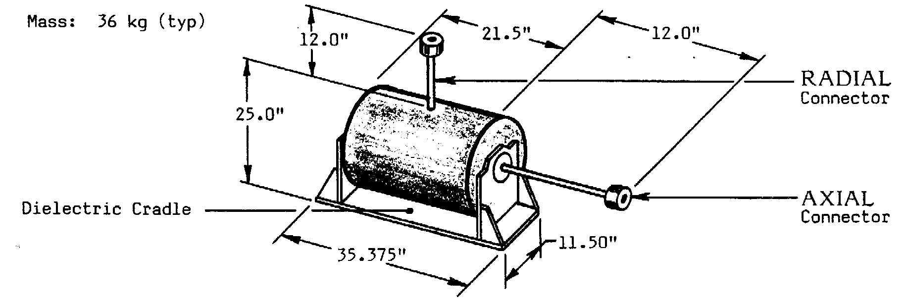 Prodyn B10 magnetic field sensor product outline