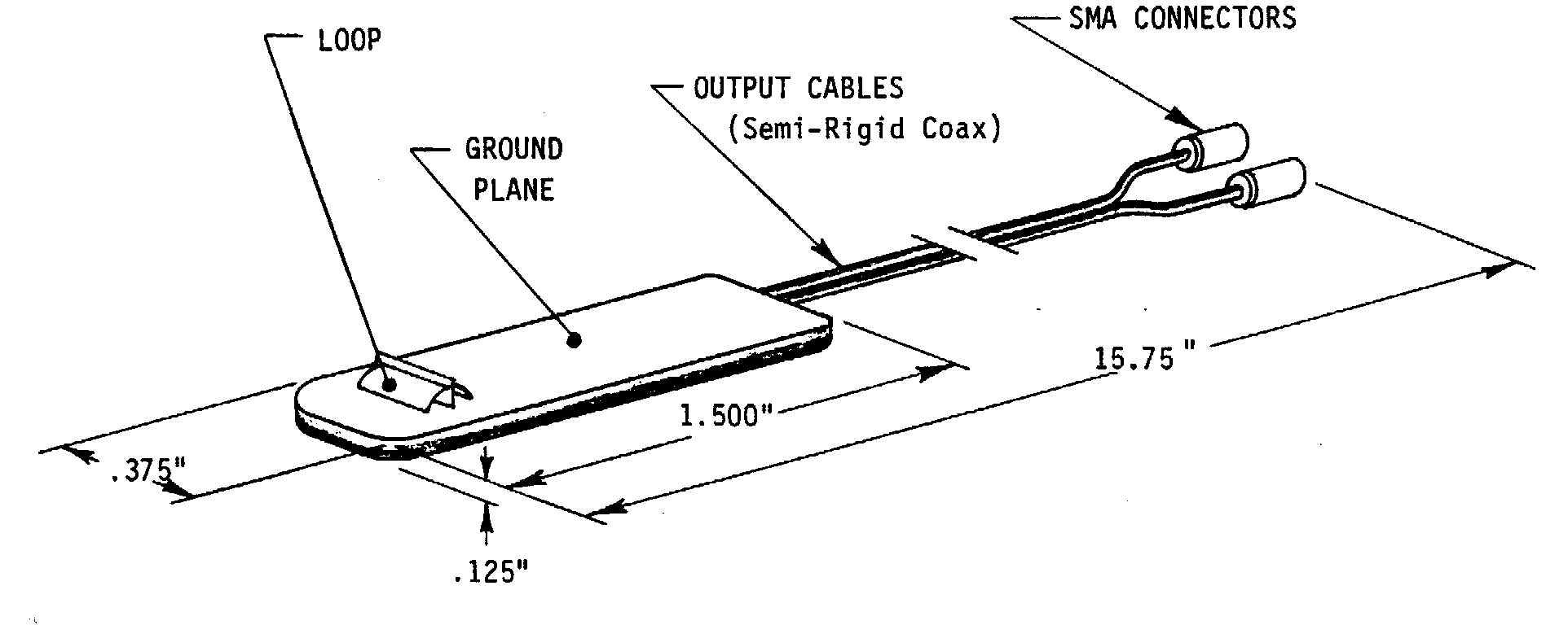 Prodyn BS25 ground plane magnetic field sensor