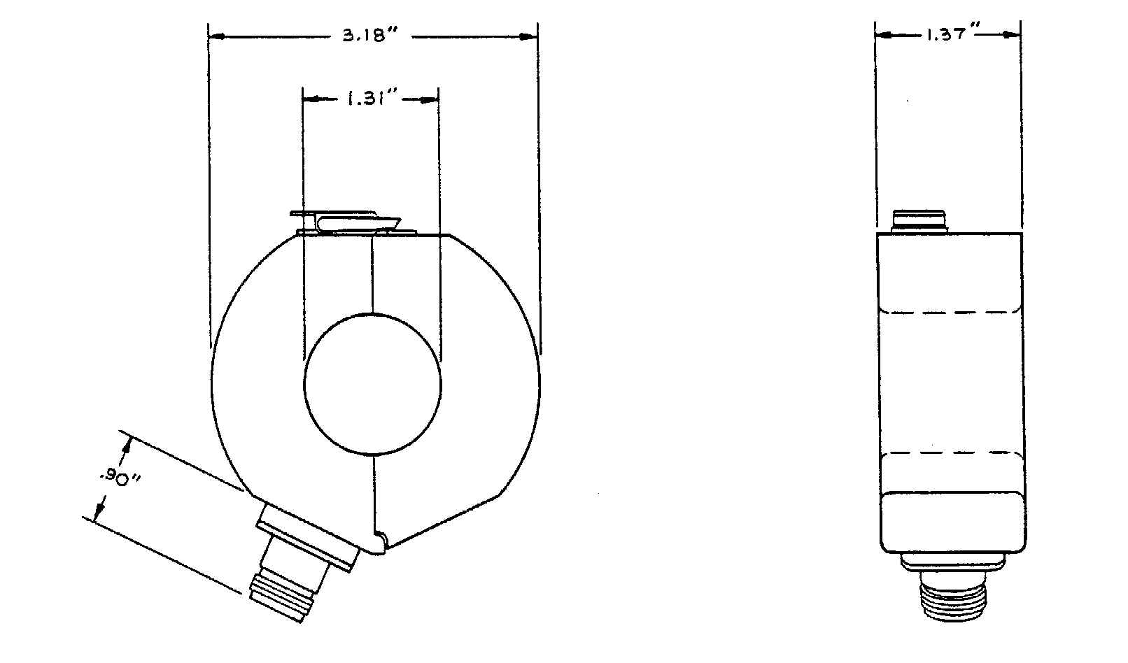 Prodyn I 125 series current probe